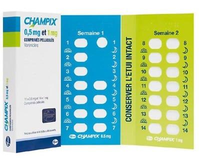 Posologie Champix Pfizer