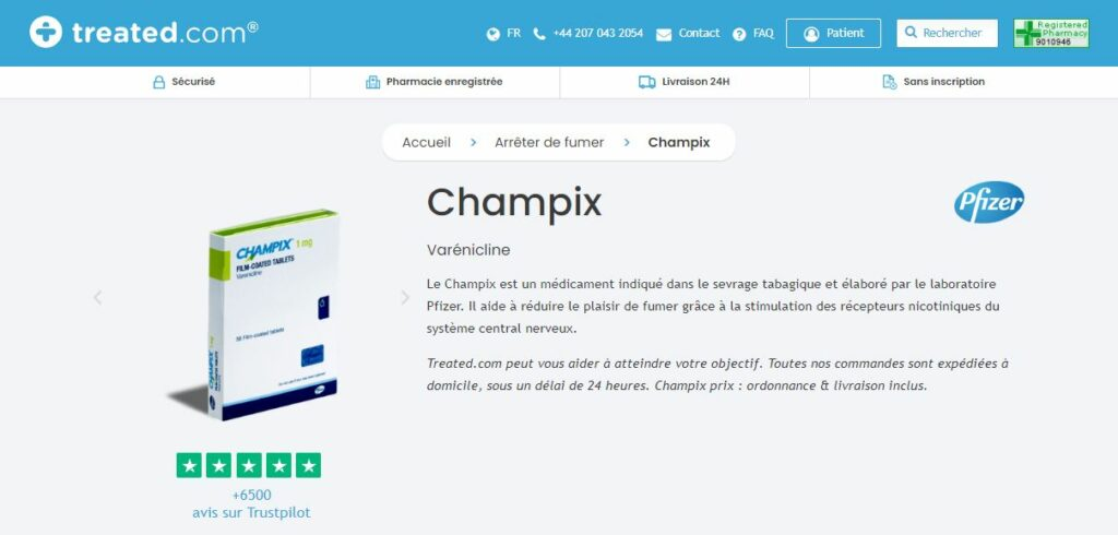 Treated - Acheter Champix