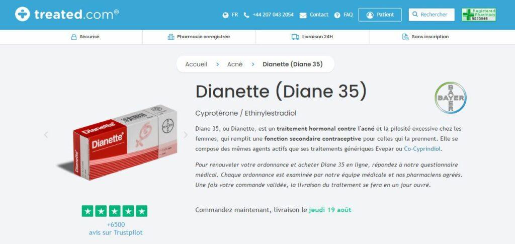 Treated - Acheter Diane 35