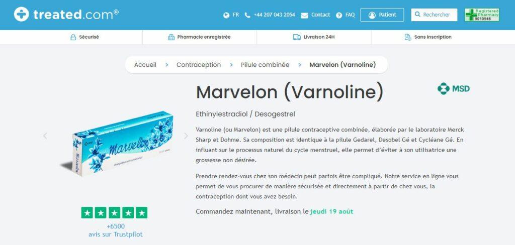 Treated - Acheter Marvelon