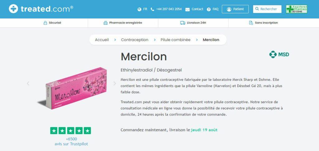 Treated - Acheter Mercilon
