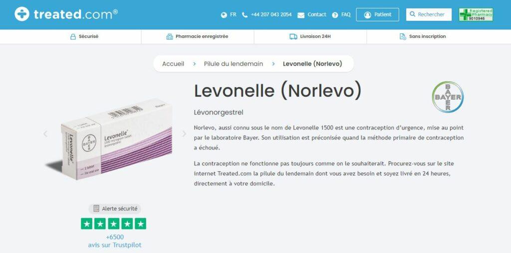 Treated - Acheter Norlevo