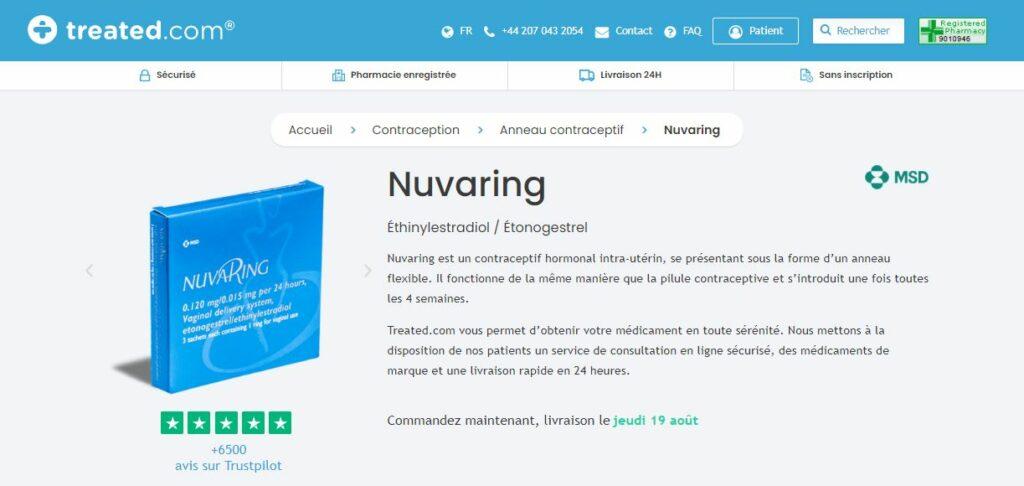 Treated - Acheter NuvaRing