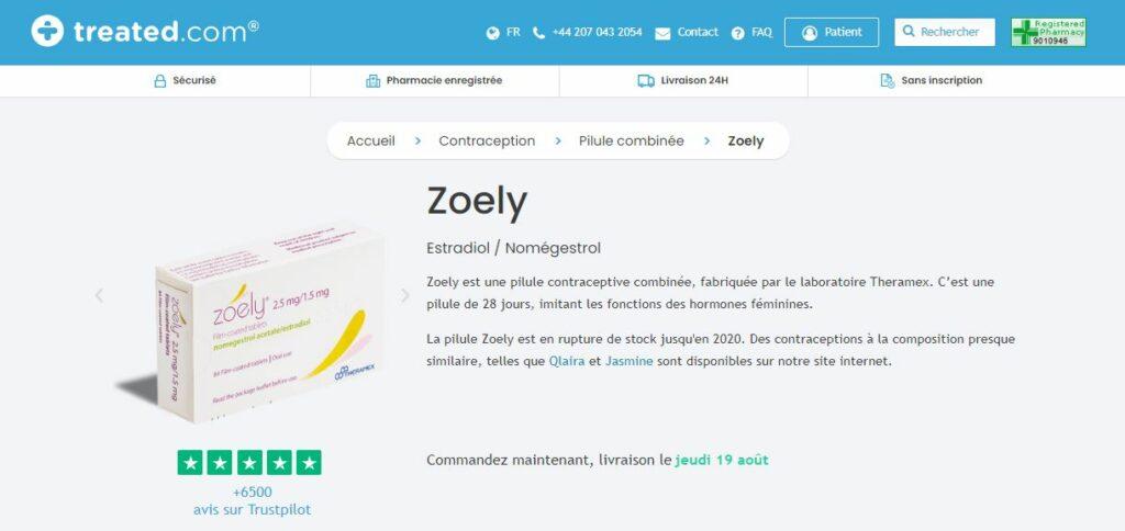 Treated - Acheter Zoely